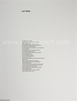 Peire Luc - Geometrisch abstracte compositie, 1977